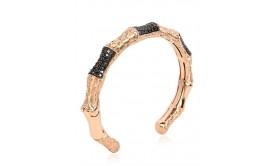 Black Rose Gold Bracelet